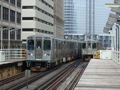 アメリカ北東部の鉄道旅行(1) シカゴ編