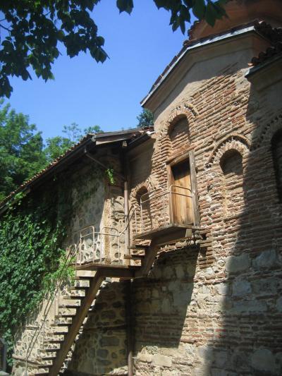 2008年ブルガリア旅行第15日目ソフィア(1)世界遺産のボヤナ教会見学後、フリーマーケットをぶらぶら