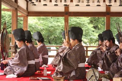 藤森神社でオフ会