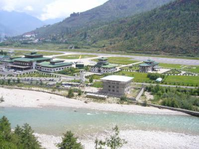 神秘の王国ブータンの旅No2・・・バンコク空港~パロ空港