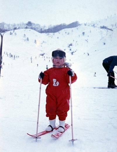 昭和39年2月初めてのスキー