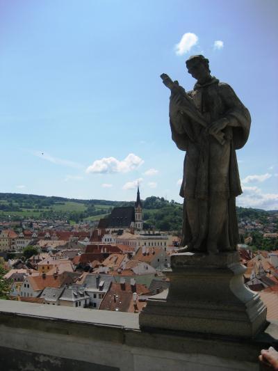 中世の街、チェスキークルムロフ