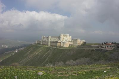 2007年イギリス・エジプト・ヨルダン・シリア旅行 26日目前編 クラック・デ・シュバリエ -CRAC DES CHEVALIERS-