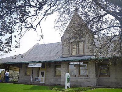 「ルート66」(2009年GW)。。。その8「ドワイト(Dwight)駅」