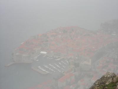 【クロアチア11日間】天候急変!雪のアドリア海