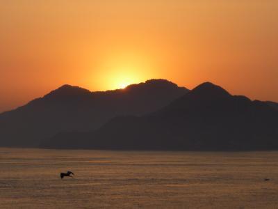しまなみ海道から朝日を見よう