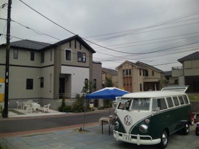 神奈川県横浜 アイス、かき氷、ドリンク移動販売出店 住宅販売場