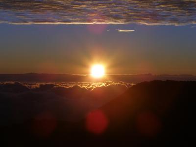 二世帯6人家族旅行記(2)―ハレアカラ国立公園での日の出観賞