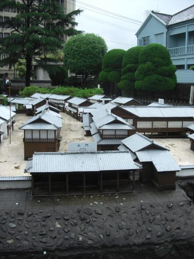 長崎は土砂降りだった