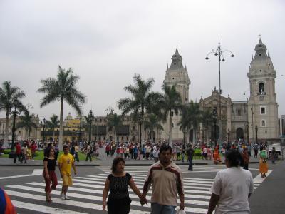 初の南米上陸記・ペルー一人旅?リマ