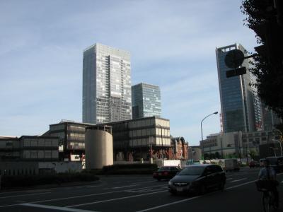 久しぶりに東京駅・丸の内側を訪れる