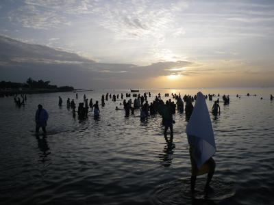 海の向こうはスリランカ、聖なる地・ラーメシュワーラム