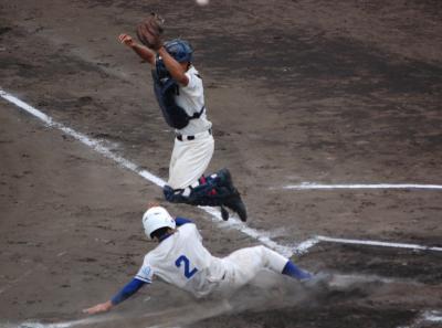高校野球神奈川県大会@俣野球場