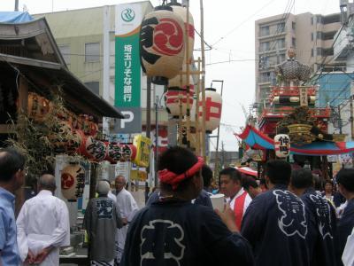 09 久喜市の提灯祭り・・・?八雲神社の祭典