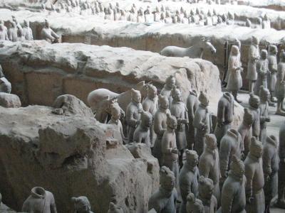 専用車でめぐった西安・北京2 兵馬俑・陝西歴史博物館・街歩き