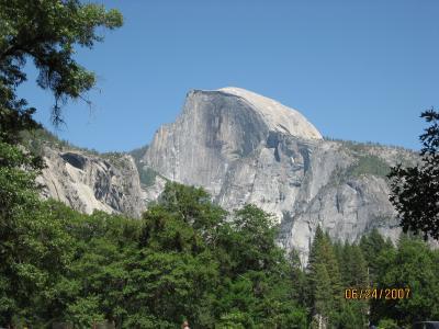 ヨセミテ国立公園とサンフランシスコの旅 ? ヨセミテ編
