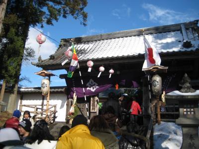 謹賀新年 in 中尊寺/函館 2009