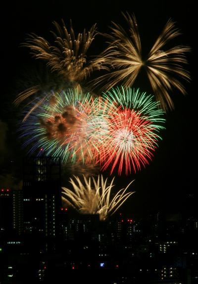 ひとり旅 ★BEST PHOTO ☆夢花火<遠くから眺めた♪広島みなと夢花火>広島市西区