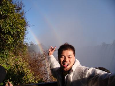 見たぜ!! 2009 ザンビア 『自然はスゲェ!!虹はキレイ♪水煙はヤバイ!!時期的にデビルズプールには行けず!!』 IN  ビクトリアの滝(モシ・オ・トゥニャ)
