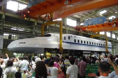 浜松工場 新幹線なるほど発見デー 2009