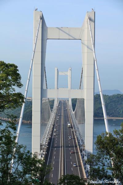 鷲羽山から望む下津井瀬戸大橋 /岡山県倉敷市