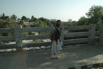 インド人の生徒の写真