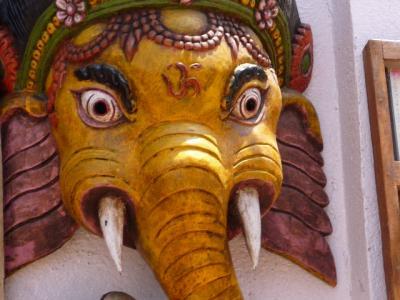 世界最貧国の一つネパール 楽しい人々とゾウと仏像