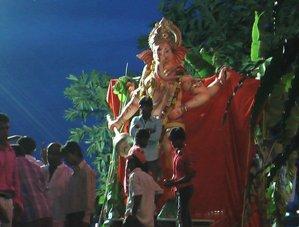 インドのガネーシャ祭