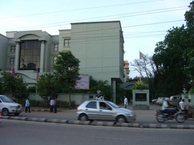 ハイデラバードのグリーンパークホテル滞在