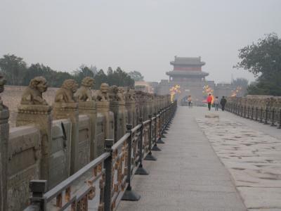 専用車でめぐった西安・北京5 やっぱり盧溝橋へ
