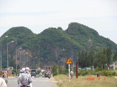 ホイアン弾丸トラベル2009夏(3/3)(五行山、ダナン市街編)