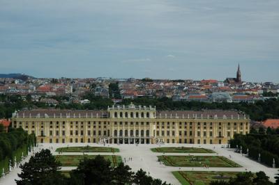 特典航空券を使ってウィーン一人旅 5 シェーンブルン宮殿