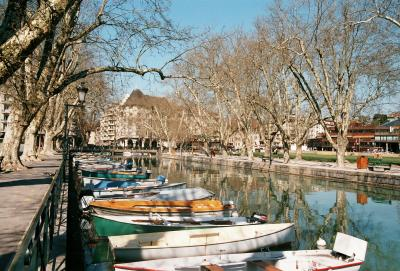Travel in France(2):Annecy Lake
