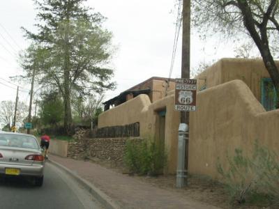 「ルート66」(2009年GW)。。。その43ニューメキシコ州「サンタローザからサンタフェ」