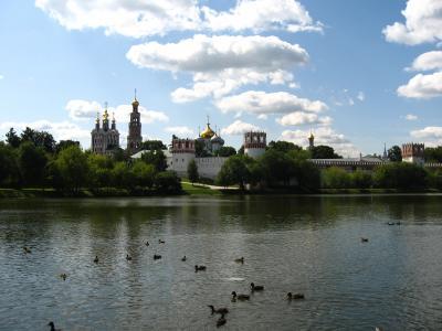 ロシア個人旅行☆モスクワ①日目~ノヴォデヴィッチ修道院