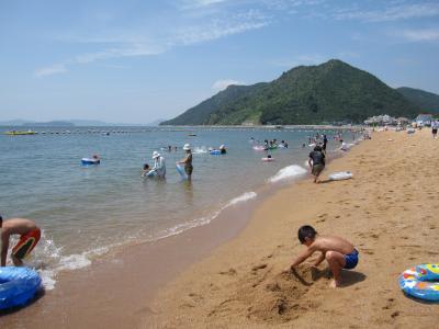 玉野 渋川海水浴場に行ってきました