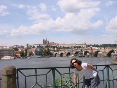 珍道中☆ららとるるのチェコの旅「プラハの青い空・編」