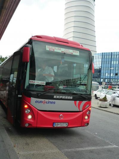 【海外21】2009.8スロヴァキア,ブルガリア旅行1-Bratislavaまで