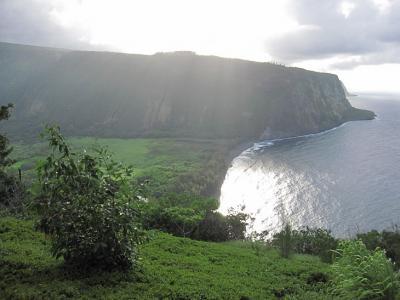 ハワイ島旅行 (6) ビッグアイランドキャンディーズ、アカカ滝、ワイピオ渓谷 (2009年)