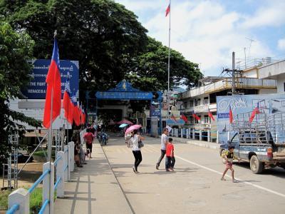 2009 08 タイ、ラオス、ミャンマーの旅3日目ちょっとだけミャンマー編