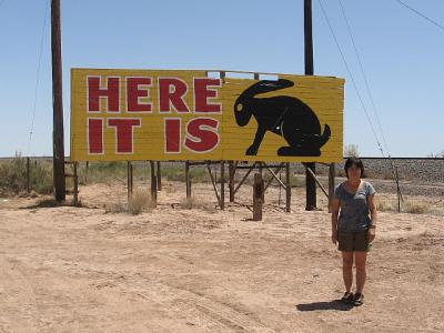 「ルート66」(2009年GW)。。。その48ニューメキシコ州「ギャラップ」からアリゾナ州「Here It Is]