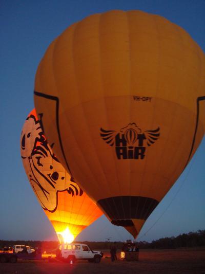 ケアンズ現地ツアー/熱気球フライト