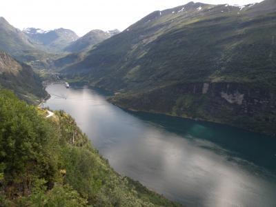 ノルウェー旅行3 ガイランゲルフィヨルド