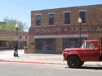「ルート66」(2009年GW)。。。その49アリゾナ州「ウィンスローからツインアローズ」