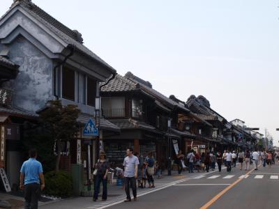 川越 蔵のある街、「つばさ」でいっぱい