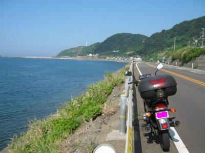 日本海と春日山