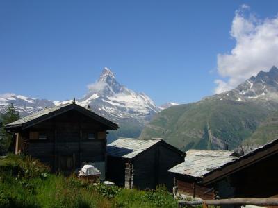 2009 スイスの夏休み~(12)トゥフテルンからツェルマットへ