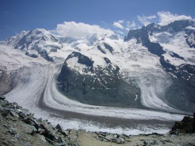2009 スイスの夏休み~(13)ゴルナーグラードからハイキング