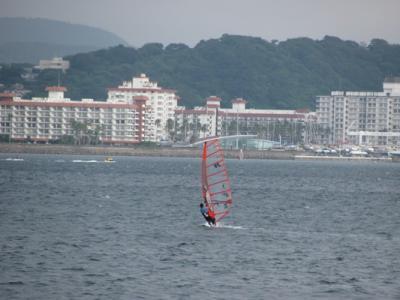 夏の海に別れを告げる旅@鎌倉(七里ガ浜~由比ガ浜):2日め