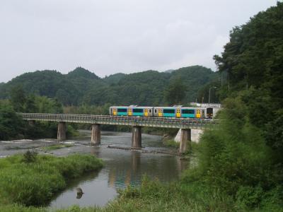 はじめての18きっぷ(1) 水郡線で袋田へ